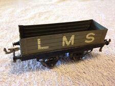 O Gauge Hornby LMS Wagon 4 Plank - Narrow Base Version