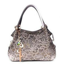 Women Ladies Leather Shoulder Bag Tote Purse Handbag Messenger Tassel Satchel