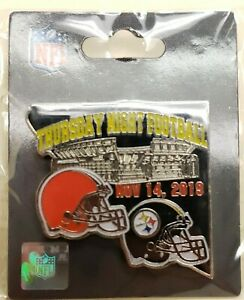Pittsburgh Steelers VS Cleveland Browns 11/14/19 TNF GAME DAY PIN Free Shipping