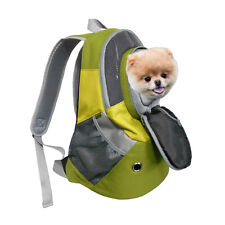 Dog Cat Carrier Mesh Outdoor Backpack Puppy Travel Bag Pet Knapsack Medium Size