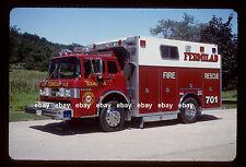 FermiLab Batavia IL 1990 Ford C Darley rescue Fire Apparatus Slide