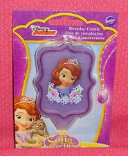 Sofia the First Birthday Candle, Party Cake Topper,Wilton,2811-2106,Purple