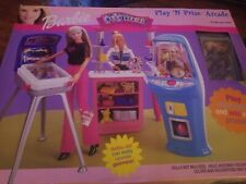 New Furniture Playset Mattel Barbie Doll 2000 Play N Prize Arcade Game Room