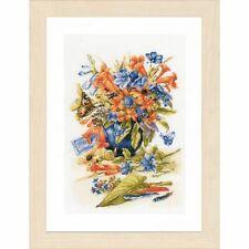 Lanarte Paquet Broderie Point de Croix vase avec fil 26x39 cm Lnpn0156103