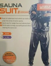 Heavy Duty Sweat Suit Sauna Exercise Gym Fitness Weight Loss AntiRip Size L/XL