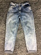 Topshop Mom Acid Wash Jeans W28 L32 Vgc