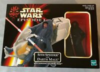 Hasbro Star Wars Episode 1 Sith Speeder And Darth Maul, 1998 NIB
