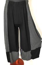 myo- Lagenlook 3 D jersey-Pants schwarz-antrazith 46,48, 50,52, 54
