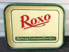 VINTAGE ROXO SODA POP BEVERAGE METAL TIN LITHO ADVERTISING TRAY