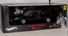 FERRARI  DINO 308 GT4 OWNED BY ELVIS PRESLEY  BLACK  ELITE V7425 1:18