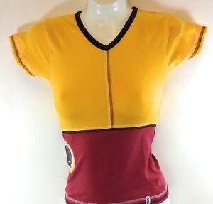 Girls Juniors Youth Reebok Washington Redskins Sparkle NFL Team Apparel Shirt