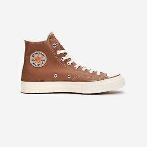 Converse Chuck 70 Hi x Carhartt WIP 169220c Hamilton Brown/EgretMens Shoes n1