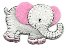ELEPHANT BABY - CHILDREN - ANIMALS - BABIES - Iron On Embroidered Patch