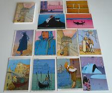Coffret 12 cartes postales VENISE CELESTE- MOEBIUS - TBE