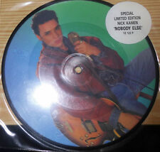 """NICK KAMEN NOBODY ELSE / ANY DAY NOW 7 """" SINGLE PICTURE DISC"""