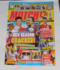 MATCH FOOTBALL MAGAZINE AUGUST 8-14  2005-2006 NEW SEASON CRACKER!