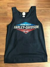 Sycamore Harley-Davidson H-D Save Chrome Mens Dealer Tank 40290041