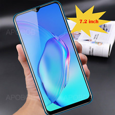 "7.2"" Android 9.0 Cell Phone Unlocked Dual Sim Quad Core At&T T-Mobile Smartphone"