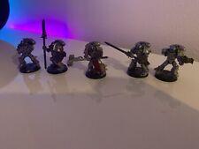 Warhammer 40k Gris Caballeros huelga escuadrón Pintado