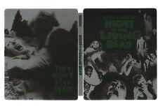 NIGHT OF THE LIVING DEAD - UK EXCLUSIVE BLU RAY STEELBOOK