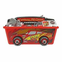 Disney Store Cars Lightning McQueen Quick Fix Tool Box Toy Playset