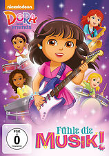 DVD * DORA AND FRIENDS - FÜHLE DIE MUSIK! # NEU OVP +