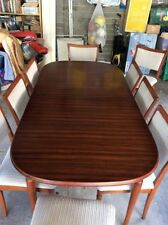 Timber Dining Furniture Sets with 11 Pieces