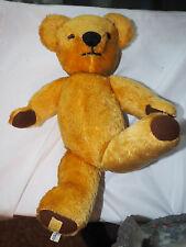 """Rare 1957 Merrythought Mohair Teddy Bear all tags Simpson's Very Good Plus 16"""""""