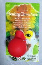 HONKING Clown Nose Fancy Dress RED Circus Rudolf Christmas Halloween