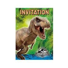 Invitaciones y felicitaciones de fiesta, dinosaurios