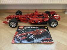 Lego Technic Technik Racers 8674 Ferrari F1 1:8 . 100% Komplett . Top Zustand