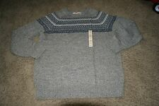 URBAN PIPELINE men's sz XL hickory NWT crew wool blend sweater