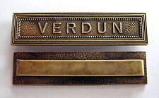 Agrafe barrette taille ordonnance pour la médaille de VERDUN, 1914-1918.