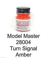Model Master 28004 Turn Signal Amber 1/2 oz Lacquer Paint Bottle
