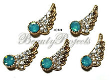 5pc Nail Art Charms 3D Nail Rhinestones Decoration Jewelry DIY Bling - C221