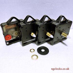 Super-Sweep Quartz Clock movement motor mechanism, Hr pipe 5.5mm/min pipe 3.6mm