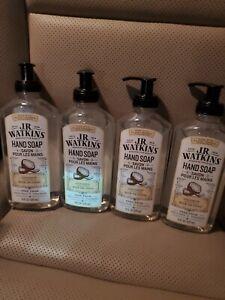 (4) Brand New J.R. Watkins Coconut Liquid Hand Soaps