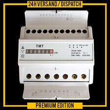 COMPTEUR ALTERNATIF ELECTRIQUE TRIPHASE WATTMETRE 220/230V 380V-400V ZS1
