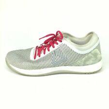 Reebok Crossfit Nano 8 Flexweave White / Gray w/ Camo Men's Shoes Size 11