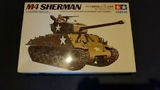 1/35 TAMIYA,u.S.Army M4A3 Sherman,Motoriezed,Plastikmodellbau,Vintage 60/70er