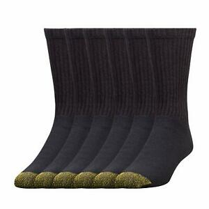 12-Pack 6-Pack Gold Toe MenS Cotton Extended Crew Big And Tall Athletic Socks US