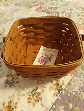 Longaberger Large Berry basket with paper insert, in Warm Brown - VINTAGE 1987