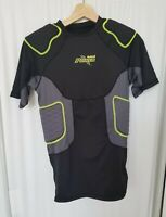 RIDDELL POWER Men's Padded Compression Football Shirt Size M