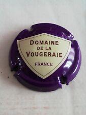 Capsule de Mousseux DOMAINE de la VOUGERAIE Violet et Crème Rare.
