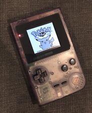 Nintendo Game Boy Pocket NEW Backlit / Backlight LCD - Atomic Purple