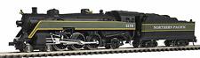 Model Power #87430 Northern Pacific 4-6-2 Streamliner Steam Locomotive