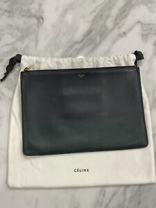 100% Authentic... Celine *Perforated Pouch*. So Chic!