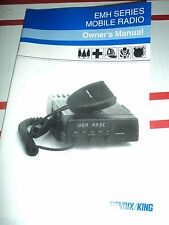 BENDIX KING EMH Series Mobile Radio Owners manual NEW