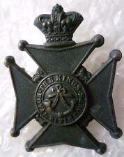 Badge- VICTORIAN King's Royal Rifle Corps Cap Badge QVC (Genuine* RARE)