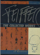 JULES FEIFFER: THE COLLECTED WORKS, VOL. 2. SIGNED HARDCOVER 1st ED.; 1989 MBX94